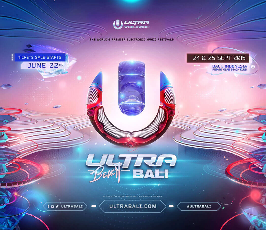 Ultra Beach Bali Announces Dates, Venue & Ticket Details