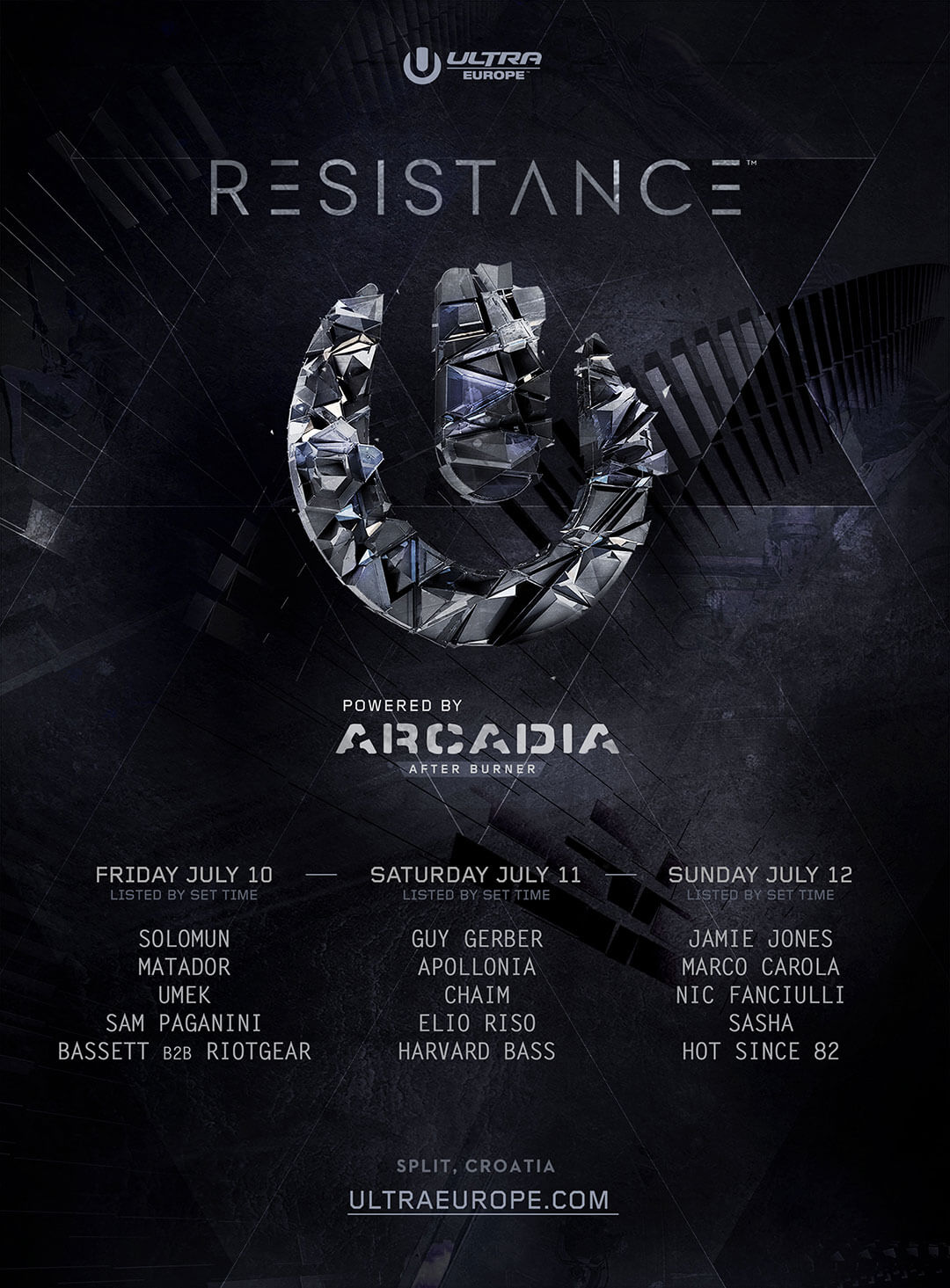 Resistance Comes to Ultra Europe