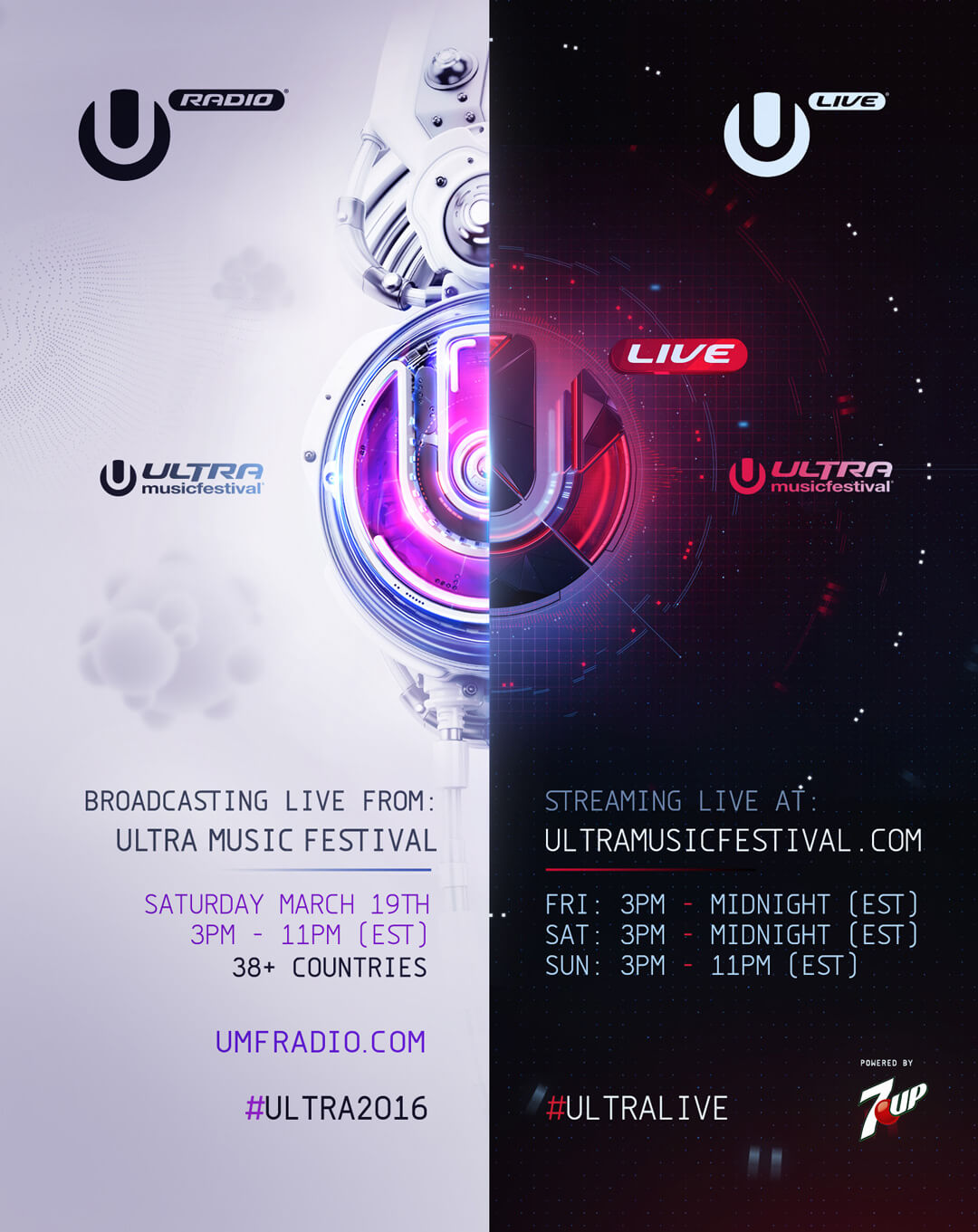 Ultra Music Festival Enhances Live Broadcast Experience w/ Ultra Live & UMF Radio