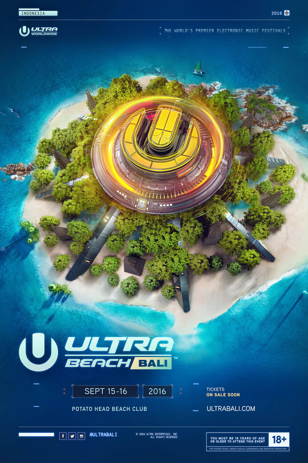 Ultra Beach Bali Aftermovie Out Now, Announces 2016 Dates