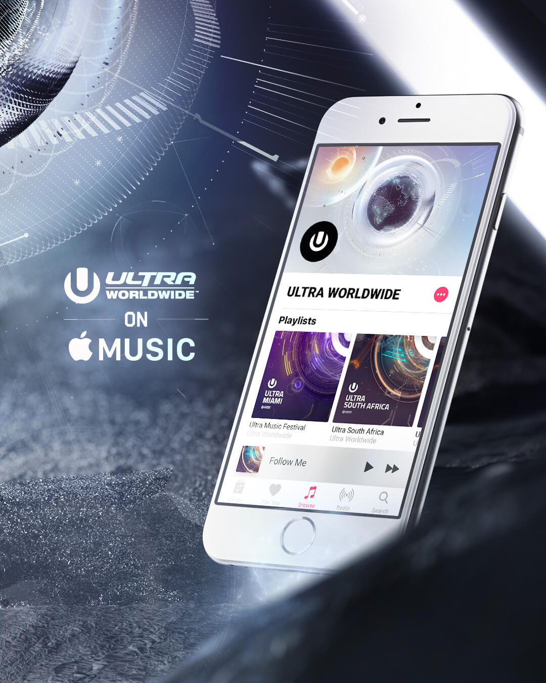 ULTRA Worldwide Announced as Official Apple Music Curator