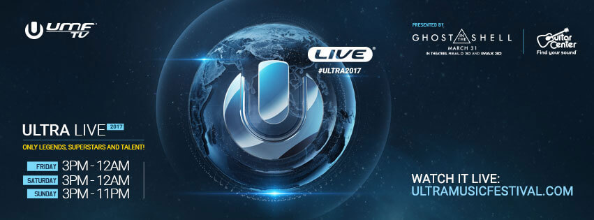 ULTRA Music Festival 2017 to Stream LIVE on YouTube via UMFTV