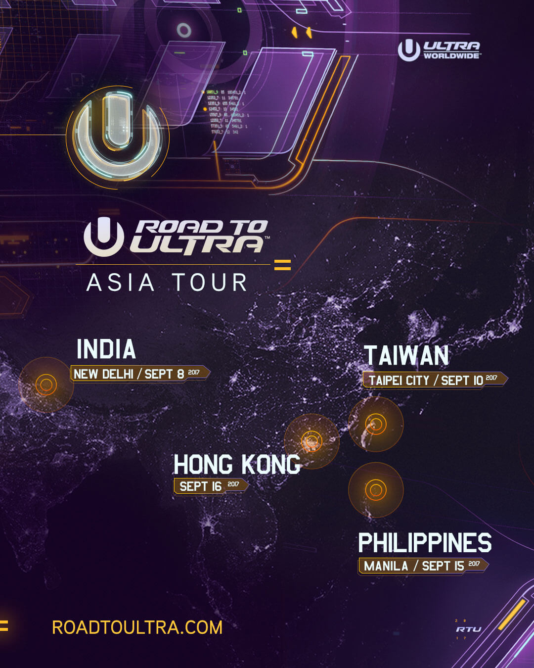 ULTRA Worldwide Drops TRIO of Final Kid Aftermovies for Road To ULTRA Hong Kong, Philippines and Taiwan