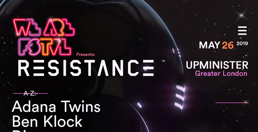 RESISTANCE We Are FSTVL 2019 Lineup