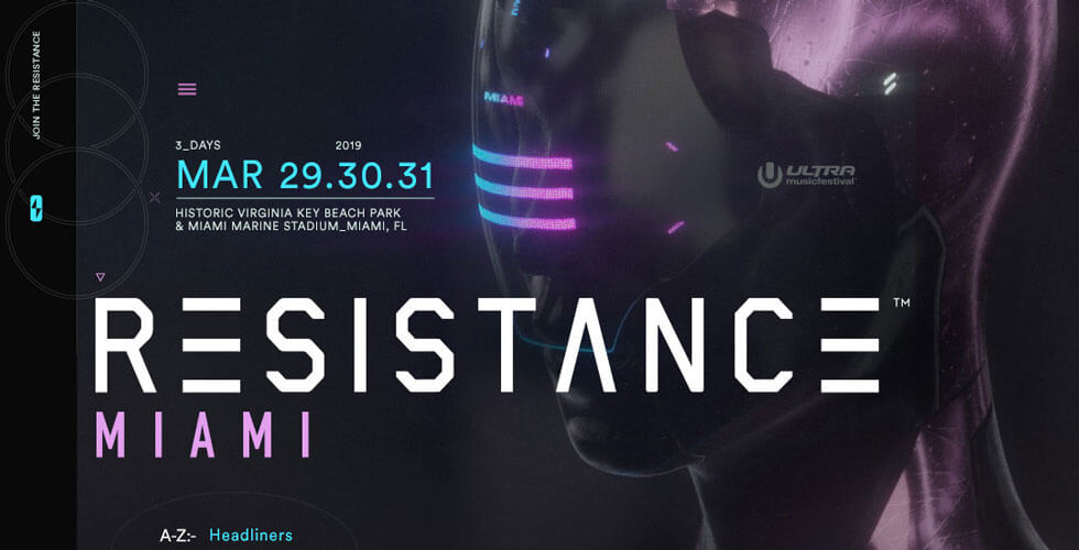 Resistance Miami Lineup 2019