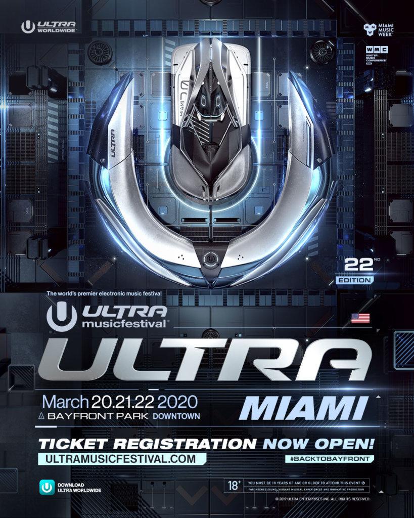 Ultra Music Festival 2020 Ticket Registration Image