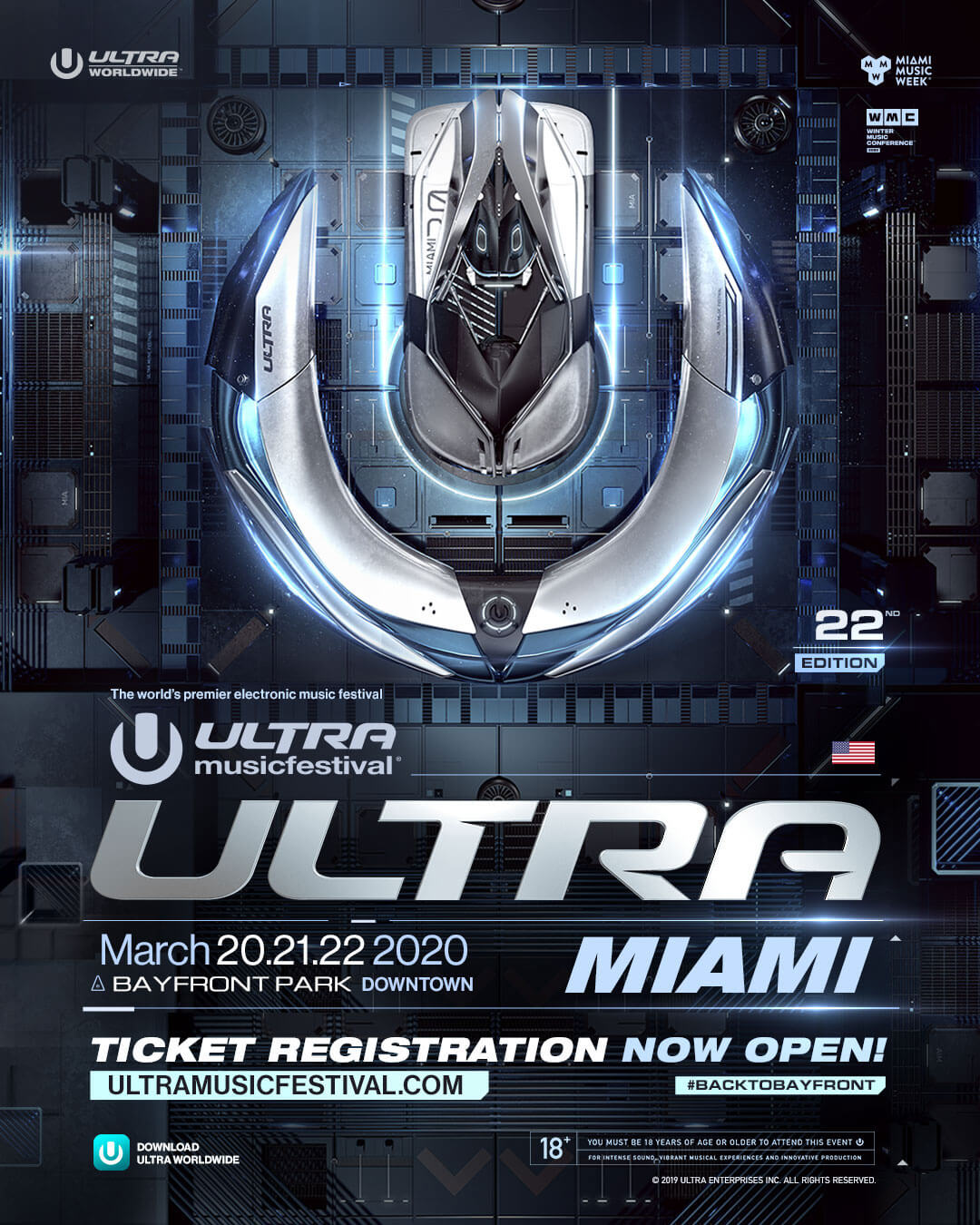 Ultra Festival Miami 2020.Ultra Music Festival 2020 Ticket Registration Now Open