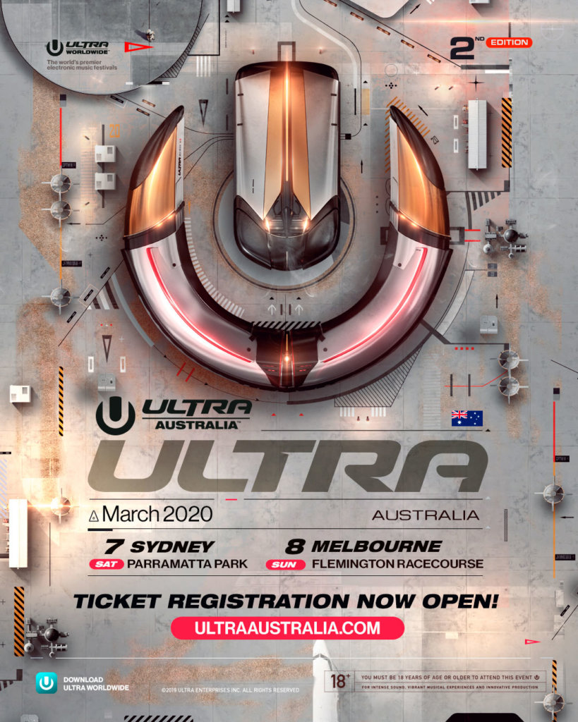 Ultra Australia 2020 Ticket Registration