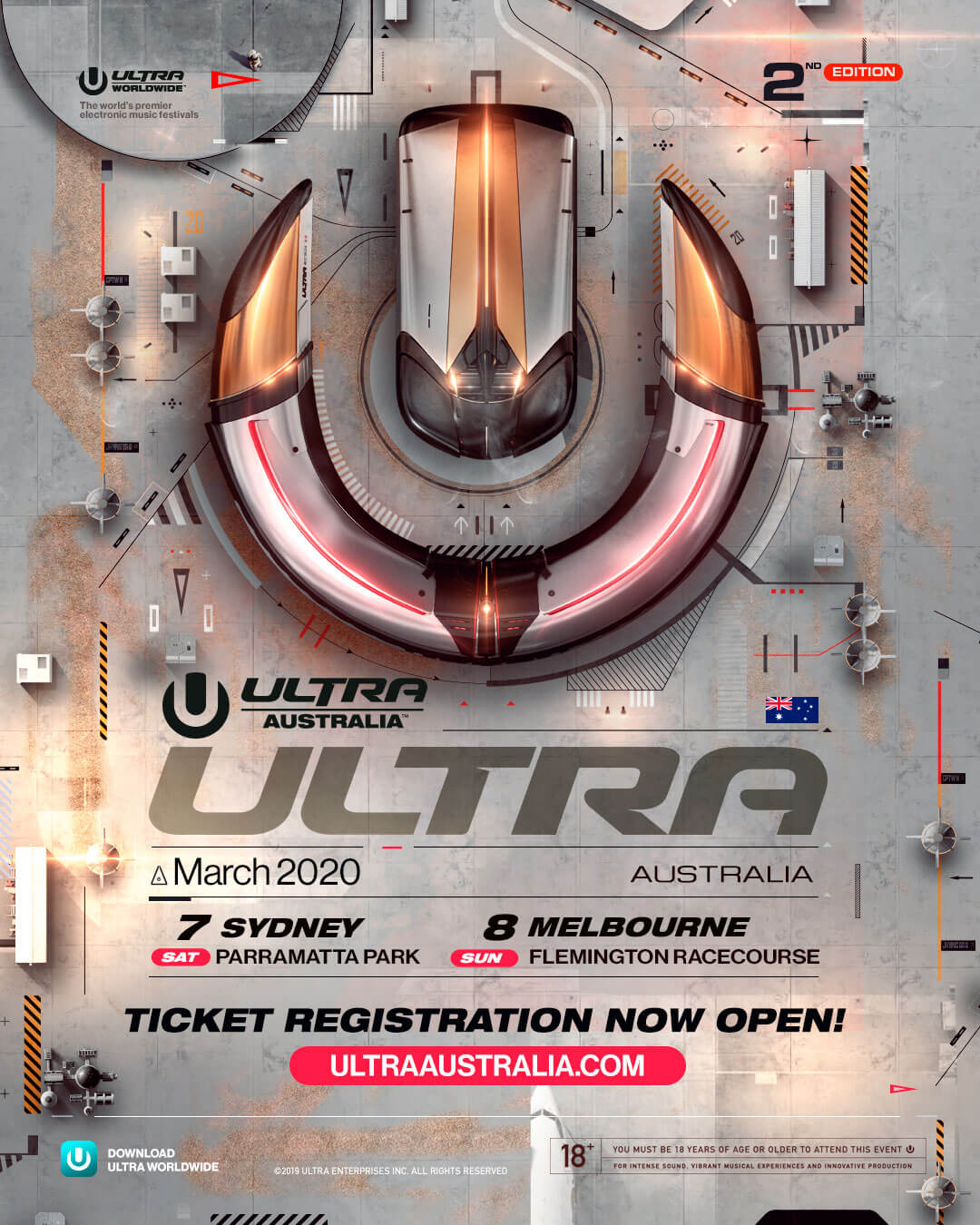 ULTRA Australia to Return in March 2020