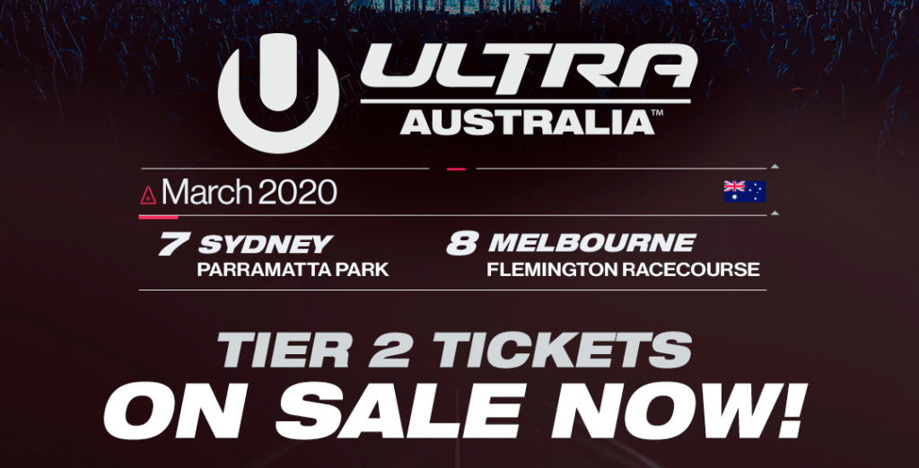 Ultra Australia 2020 On Sale Image