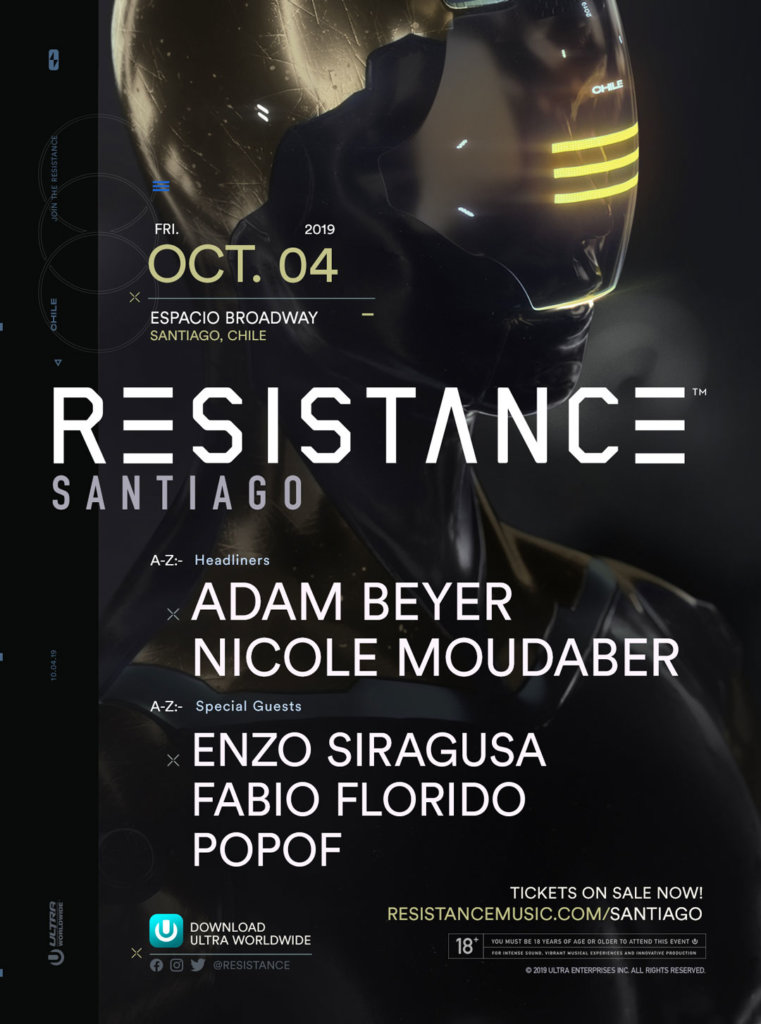 RESISTANCE Santiago 2019 Lineup