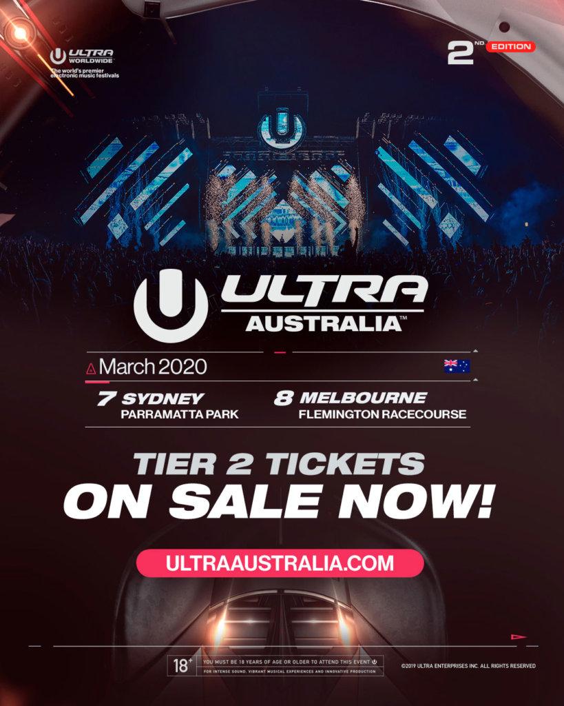 Ultra Australia 2020 On Sale Image