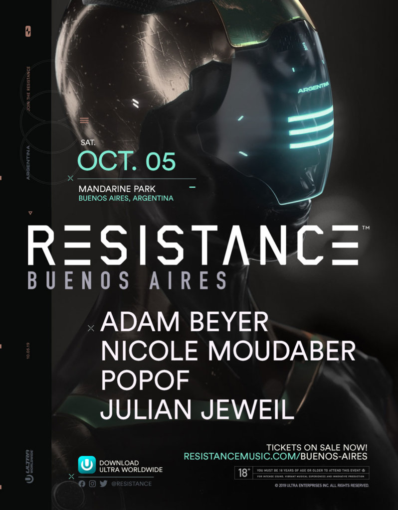 RESISTANCE Buenos Aires 2019 Lineup
