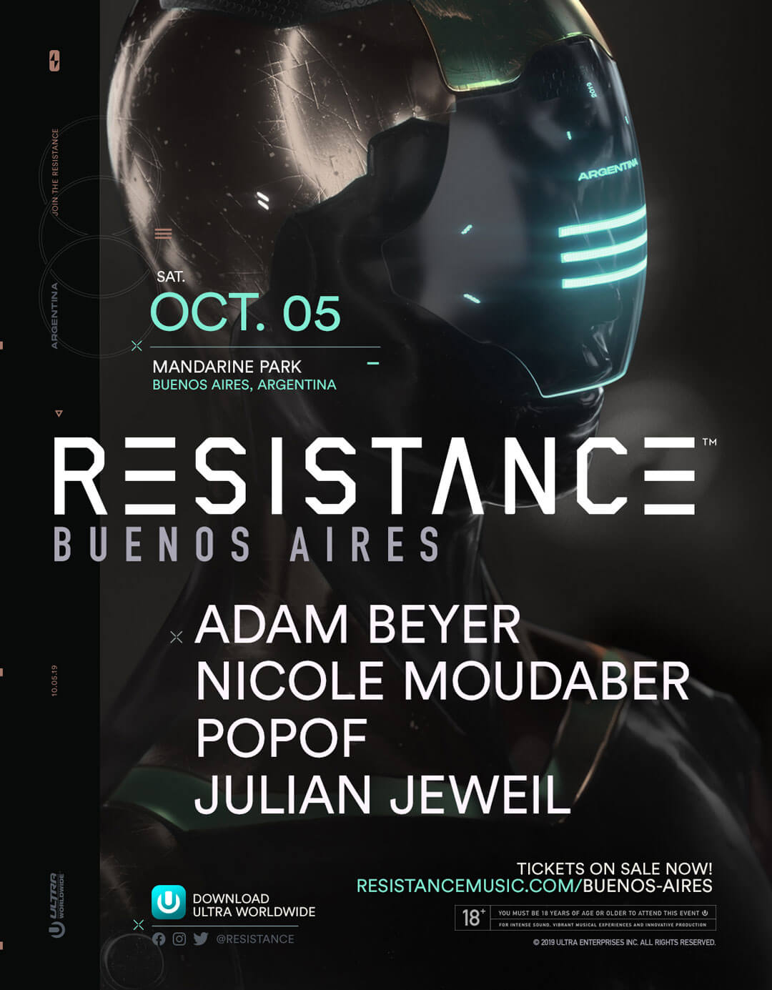 RESISTANCE Buenos Aires Releases Lineup Full of First-Time Performances