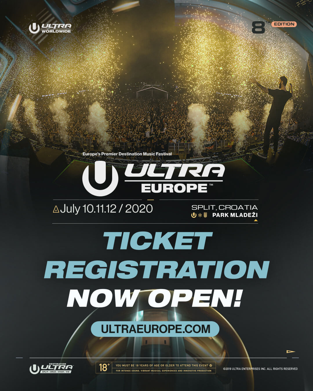 Ultra Europe Opens Ticket Registration