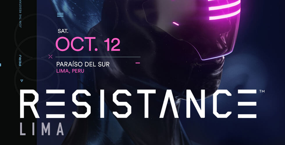 RESISTANCE Lima 2019 Lineup