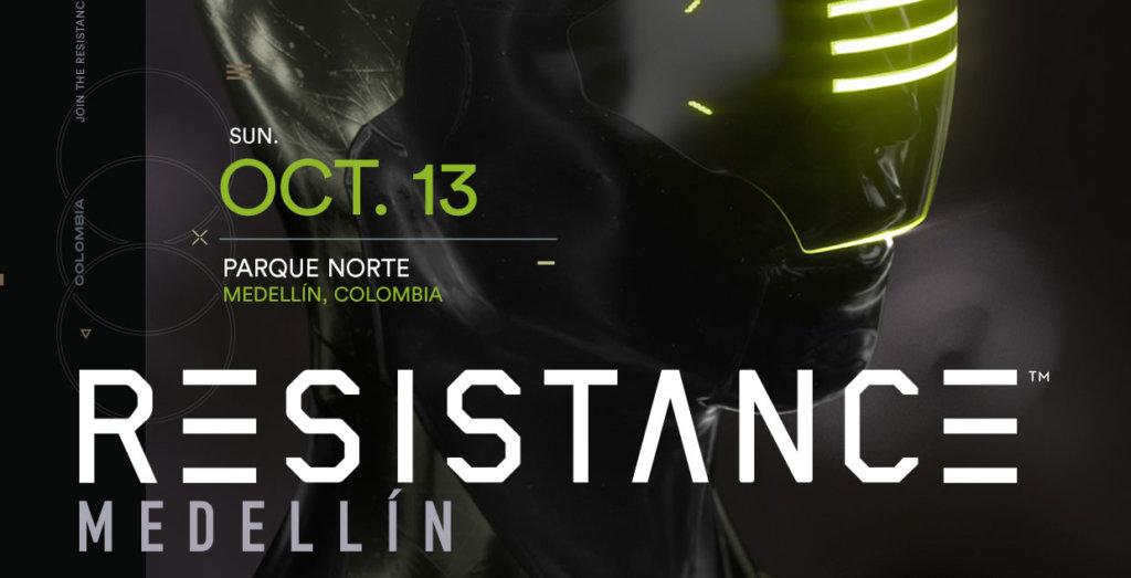 RESISTANCE Medellín 2019 Lineup