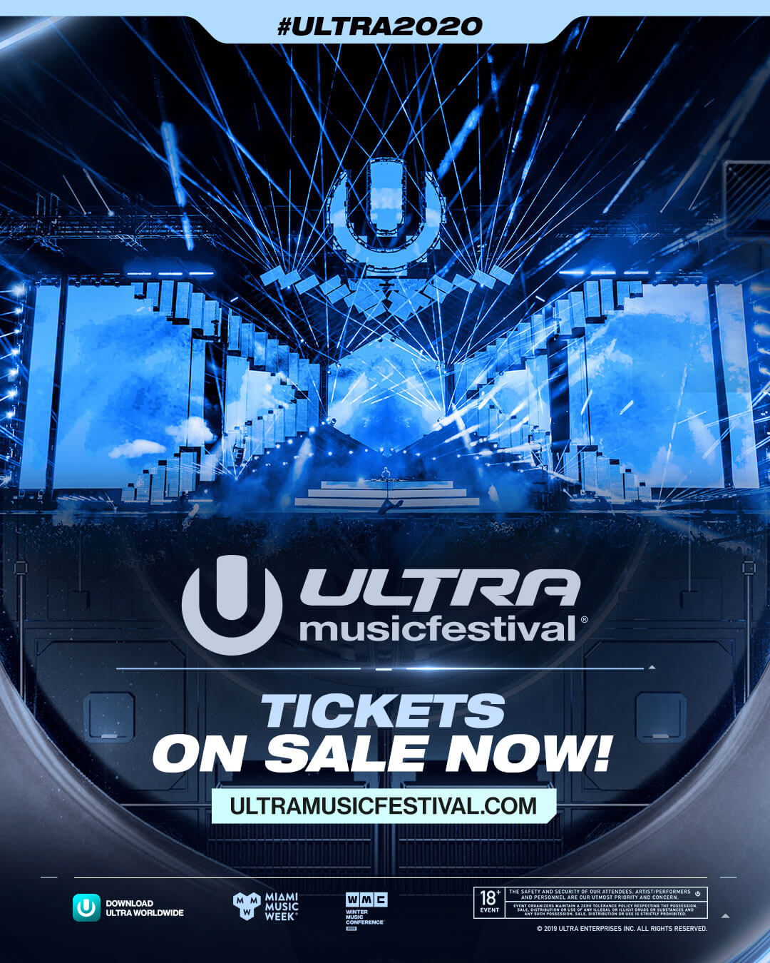 Ultra Music Festival 2020 Tickets On Sale Now!