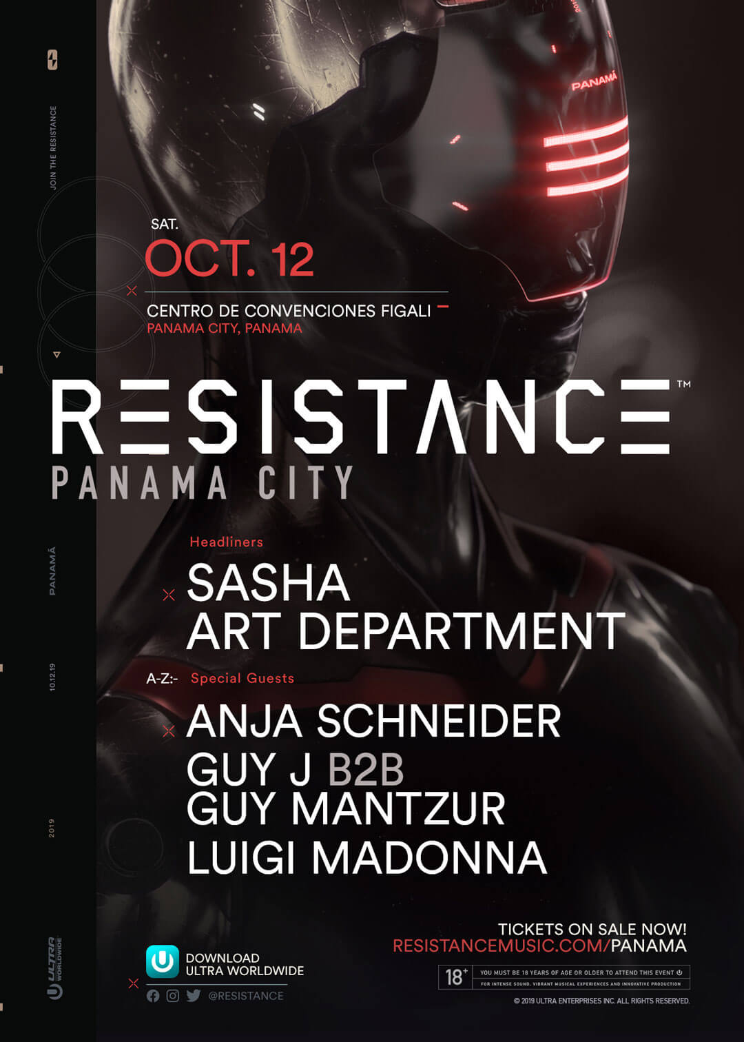 RESISTANCE Panama City Lineup Unveiled