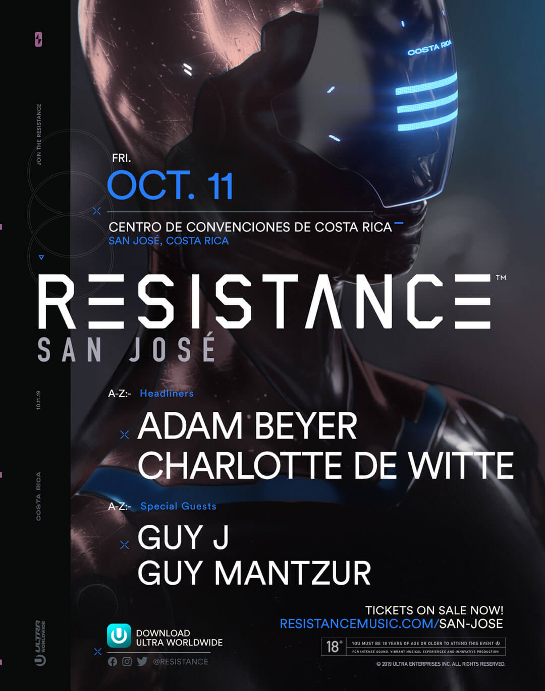 RESISTANCE San Jose Announces Lineup for Debut Edition