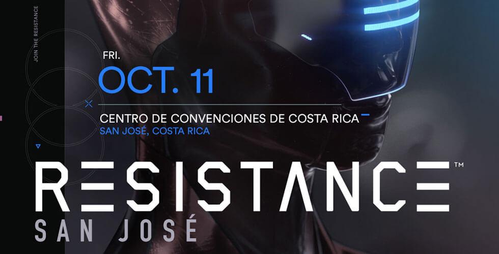 RESISTANCE San Jose 2019 Lineup