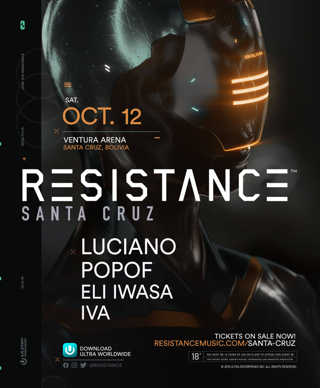 RESISTANCE Santa Cruz Releases Lineup