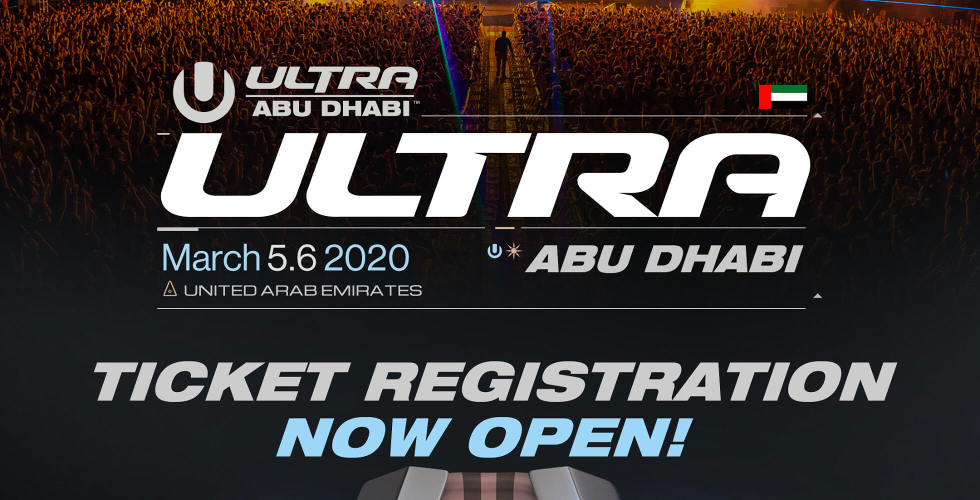 ULTRA Abu Dhabi Opens Ticket Registration