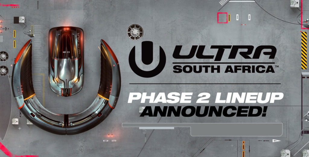 Ultra South Africa Phase 2 Lineup