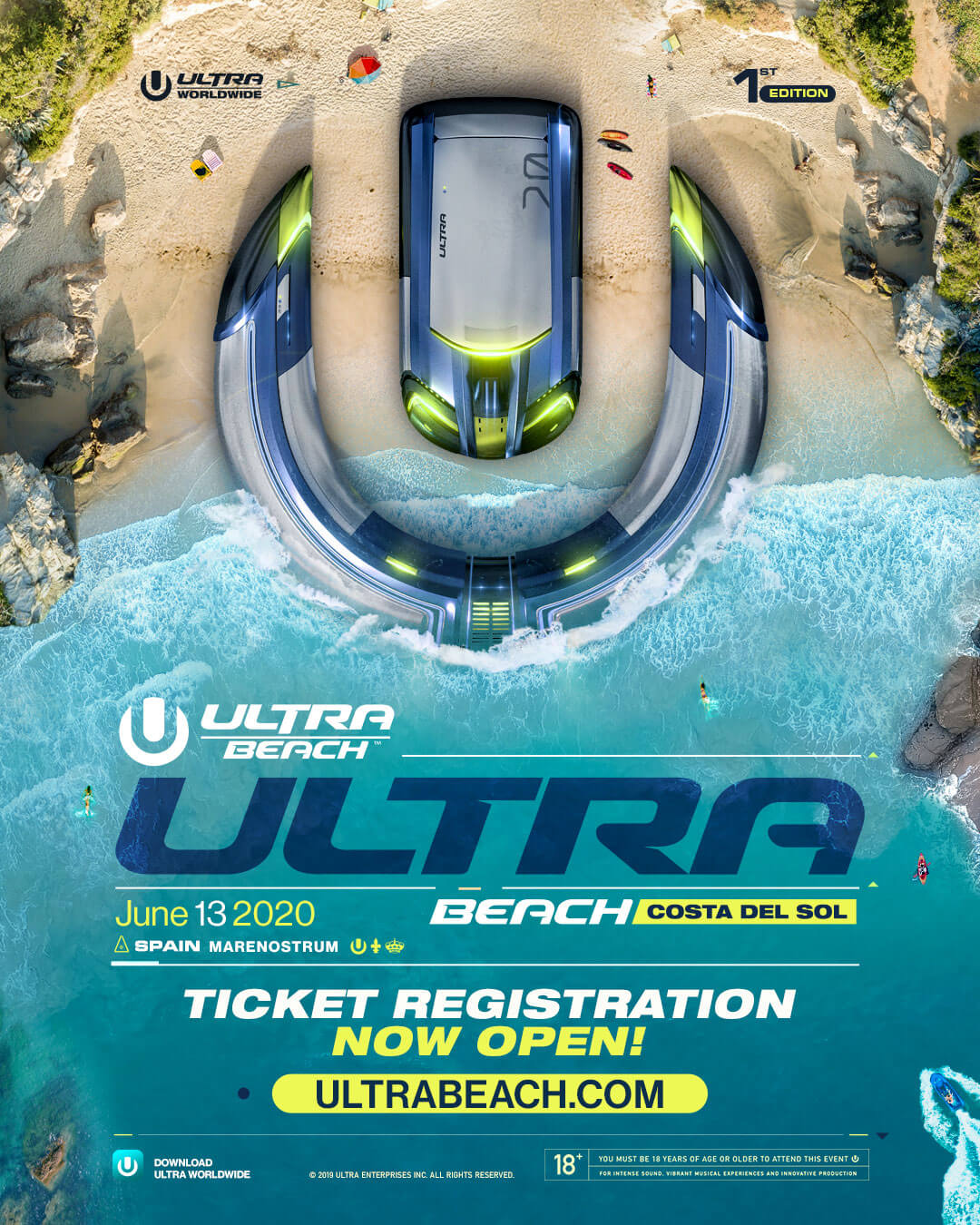 ULTRA BEACH Costa del Sol to Debut June 2020