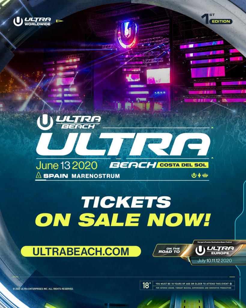 ULTRA BEACH Costa del Sol Tickets on Sale