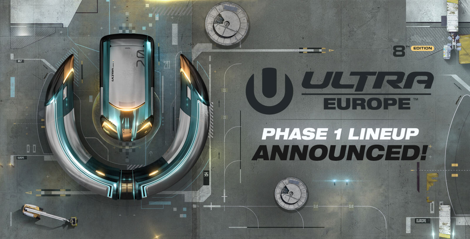 ULTRA Europe Announces Phase 1 Lineup