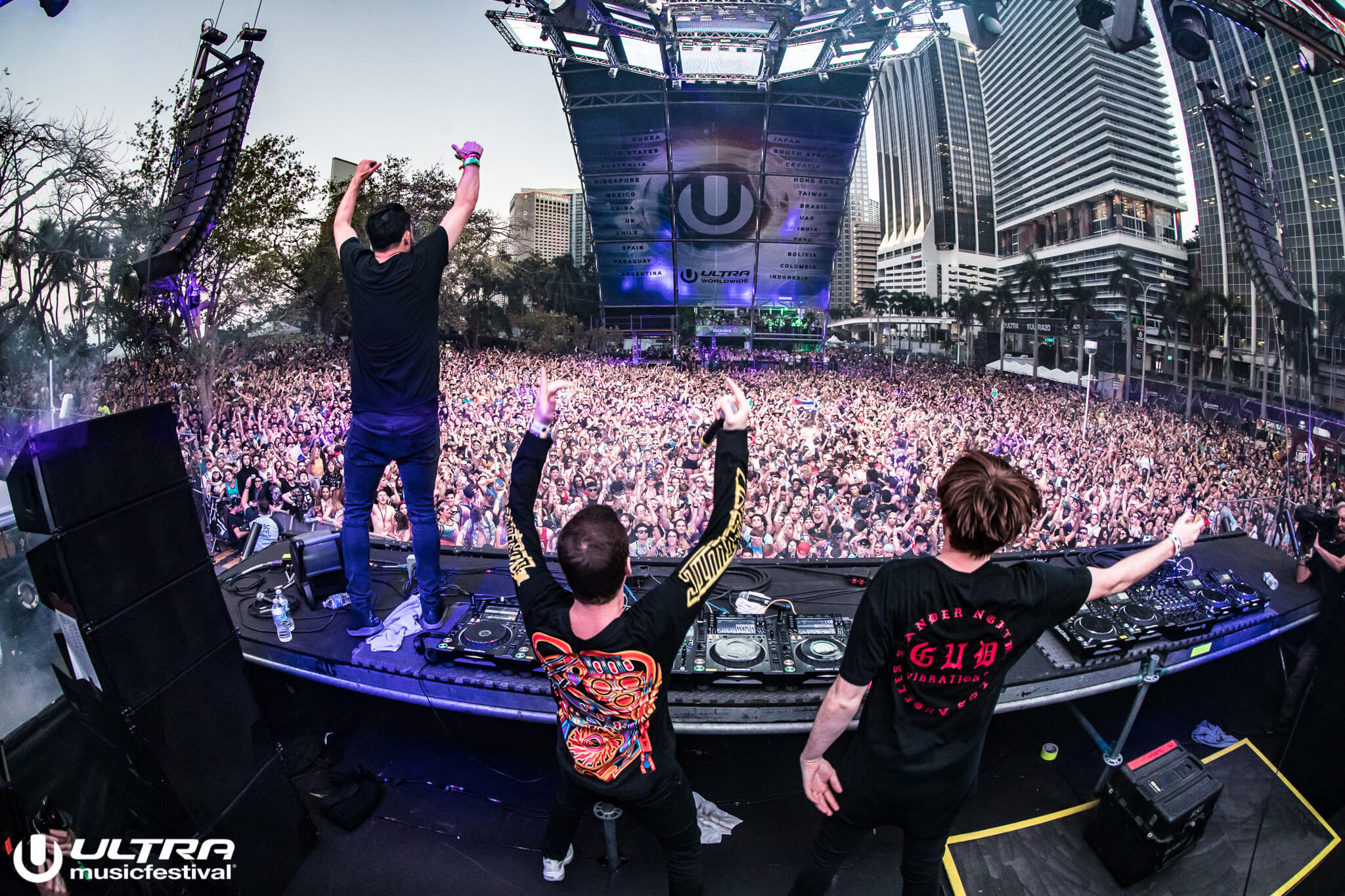 Gud Vibrations Curate Playlist in Anticipation of UMF Radio Stage Takeover