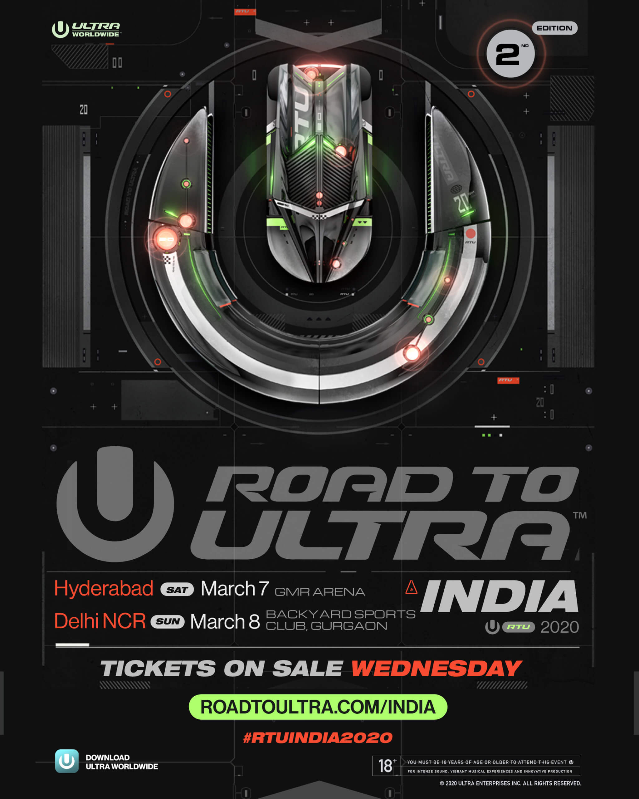 Road to ULTRA Returns to India