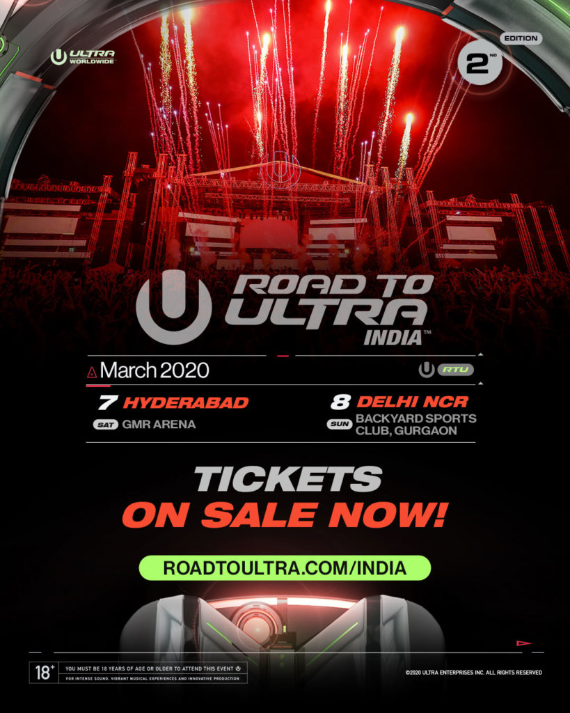 Road to ULTRA India Tickets on Sale