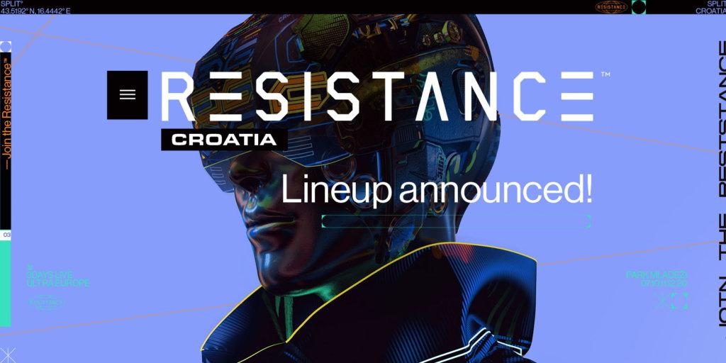 RESISTANCE Croatia Initial Lineup