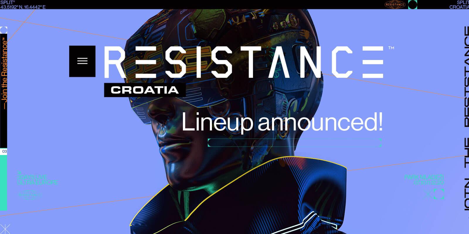 RESISTANCE Croatia Releases Initial Headliners